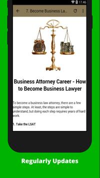 How to Become a Lawyer screenshot 2