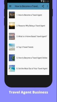 How to Become a Travel Agent poster