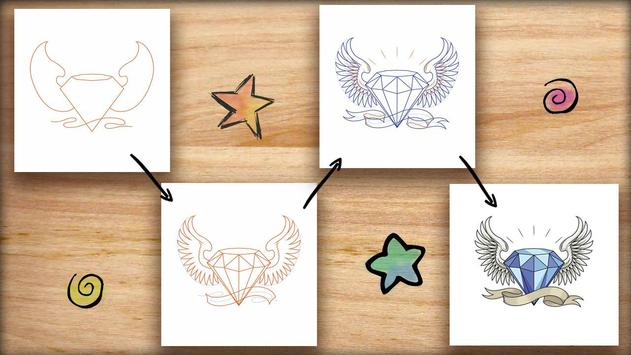How to Draw Tattoos poster
