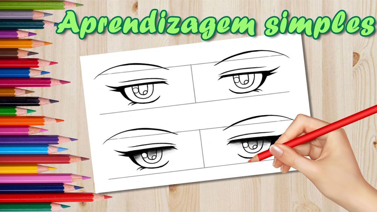 Como Desenhar Olhos De Anime Para Android Apk Baixar