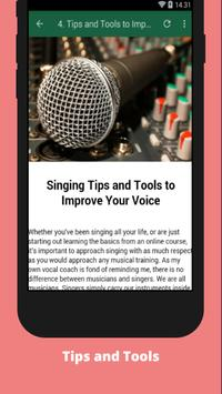 How to Improve Your Singing screenshot 3