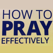 How to Pray Effectively ikona