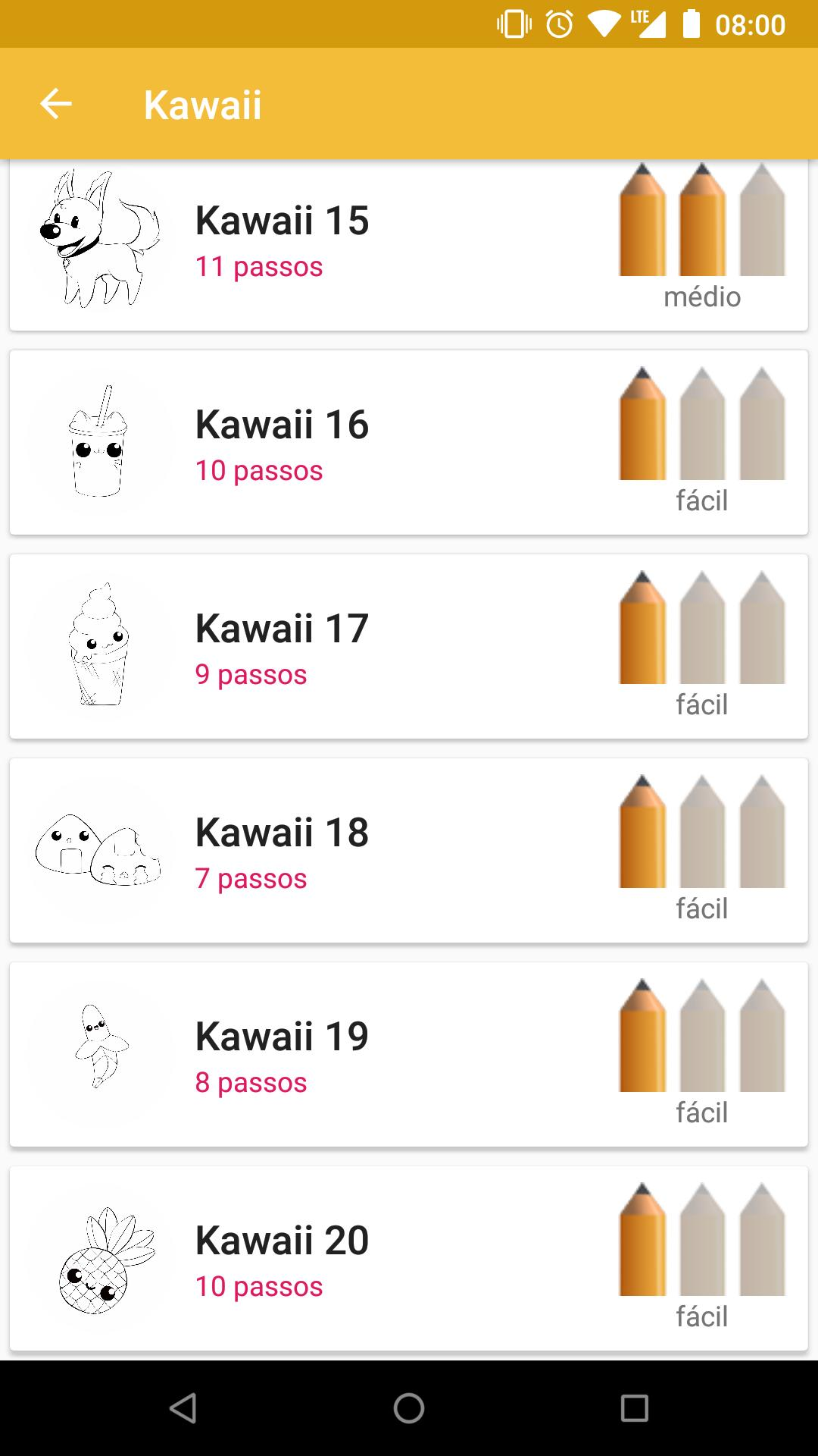 Como Desenhar Kawaii Para Android Apk Baixar