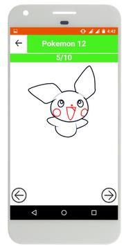 How to Draw Pokemon Step by Step screenshot 2