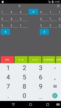 Matrixrechner screenshot 1