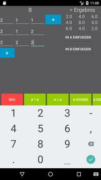 Matrixrechner screenshot 2