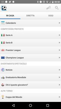 Poster Calcio Risultati in Diretta