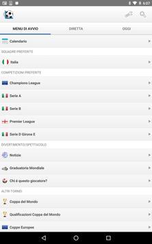 8 Schermata Calcio Risultati in Diretta