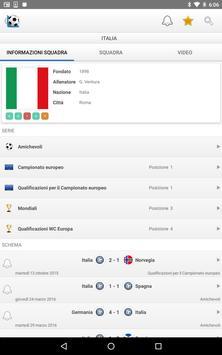 9 Schermata Calcio Risultati in Diretta