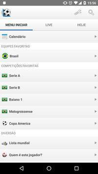 Futebol Resultados ao Vivo Cartaz