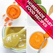 Homemade Baby Food Recipes - By Age icon
