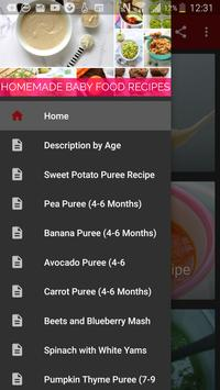 Homemade Baby Food Recipes - By Age poster