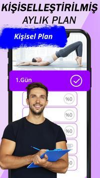 Kadın Fitness - Evde Kilo Verme Egzersizleri Ekran Görüntüsü 1