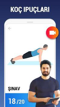 Ev Egzersizleri Ekran Görüntüsü 1