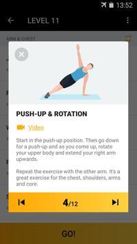 Home Workout for Men screenshot 3