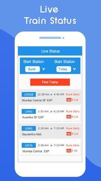 Indian Railway Live Train Running Status : PNR स्क्रीनशॉट 3