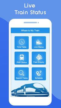 Indian Railway Live Train Running Status : PNR पोस्टर