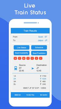 Indian Railway Live Train Running Status : PNR स्क्रीनशॉट 1
