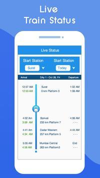 Indian Railway Live Train Running Status : PNR स्क्रीनशॉट 4