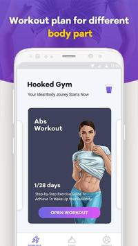 Hooked Gym poster