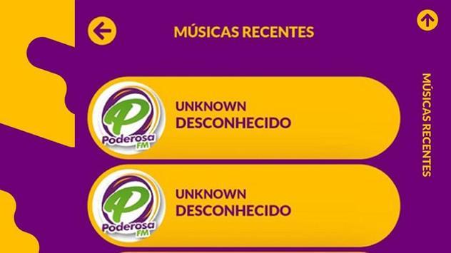 Rádio Poderosa FM screenshot 1