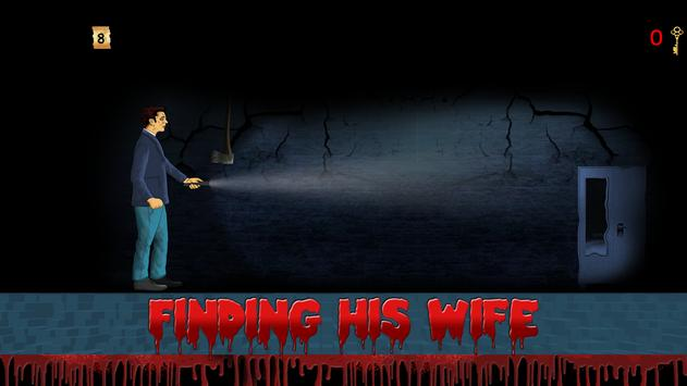 Escape Horror House : The Missing Wife Game screenshot 2
