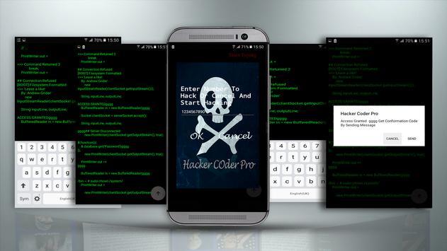 Hacker Coder Pro screenshot 1