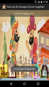 HD Hacivat Karagöz Duvar Kağıt poster