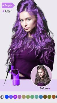 Easy Hair Color Changer screenshot 1