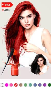Easy Hair Color Changer screenshot 2