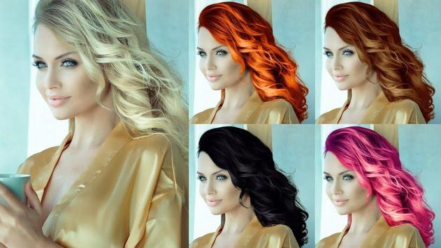 Easy Hair Color Changer screenshot 5
