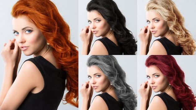Easy Hair Color Changer screenshot 6