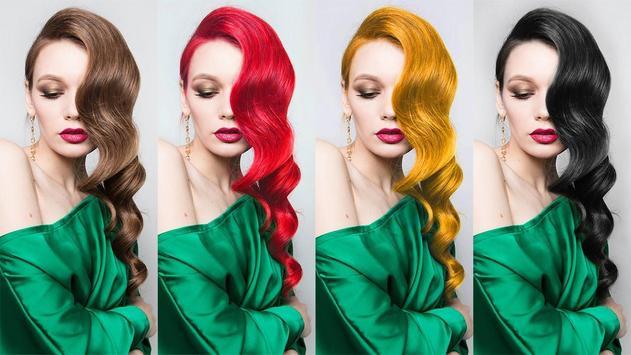 Easy Hair Color Changer screenshot 7