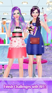Hair Styles Fashion Girl Salon screenshot 4