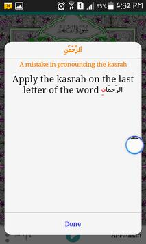 Quran tutor screenshot 4