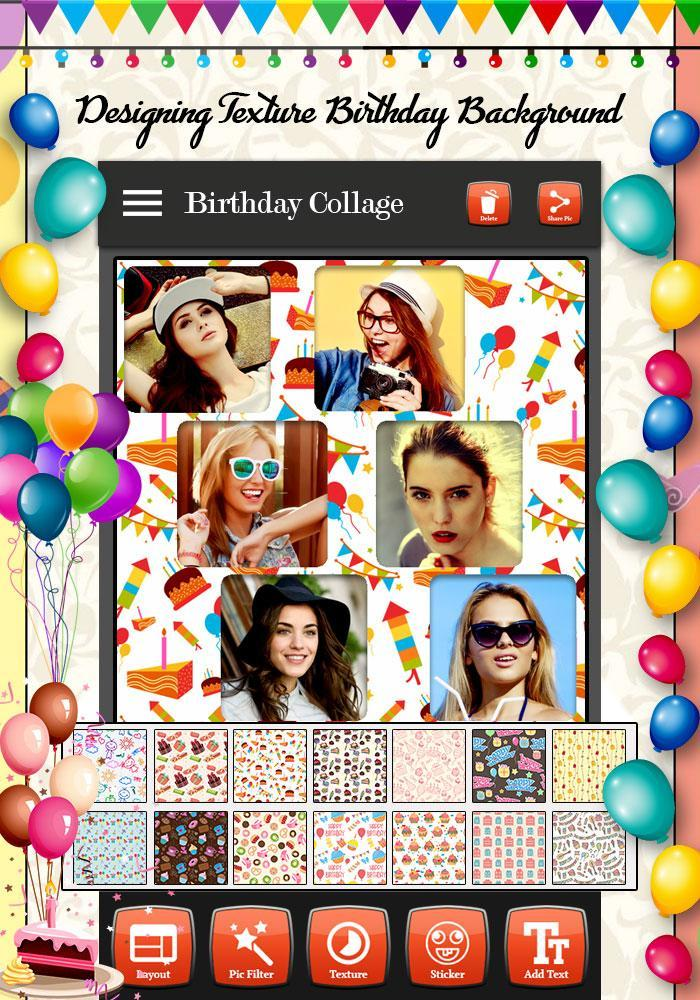 Birthday Photo Collage Maker For Android Apk Download