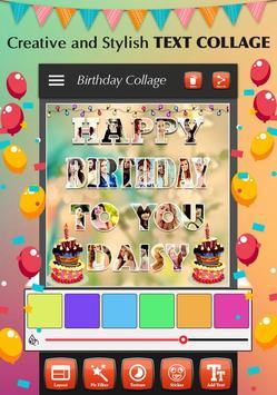 Happy Birthday Photo Collage screenshot 1