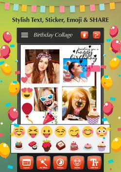 Happy Birthday Photo Collage screenshot 6
