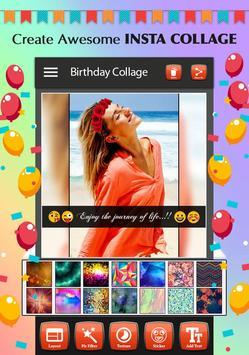Happy Birthday Photo Collage screenshot 7