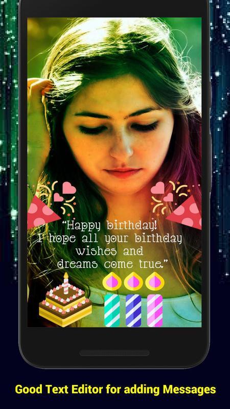 Happy Birthday WishesStickersGreetings Screenshot 6