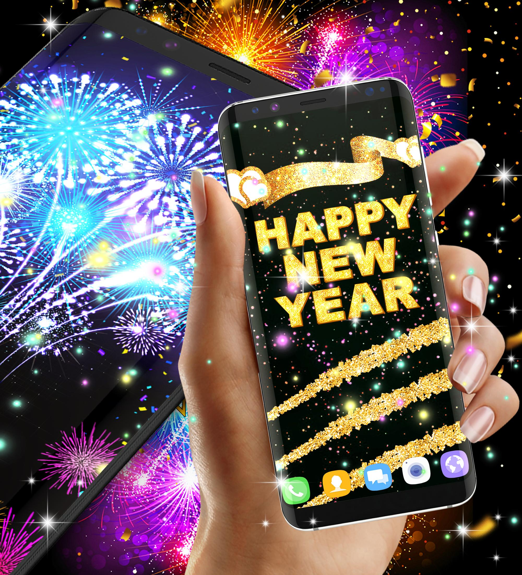 Happy New Year 2021 Live Wallpaper For Android Apk Download