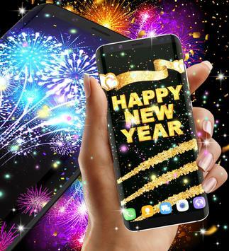 Happy new year 2021 live wallpaper screenshot 11