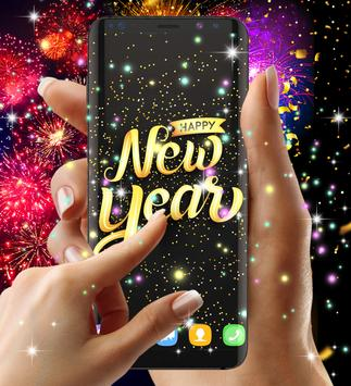 Happy new year 2021 live wallpaper screenshot 2