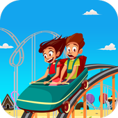 Roller Coaster Rider 3D icon