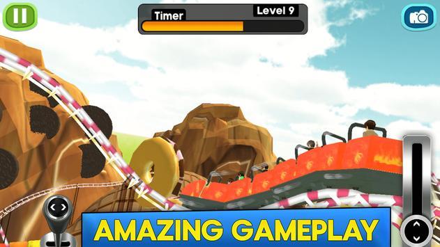 Roller Coaster Rider 3D screenshot 1