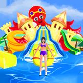 Water Park Stunt Adventure Rides and Slider icon
