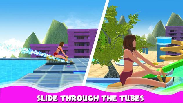 Water Park Stunt Adventure Rides and Slider screenshot 1