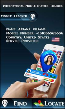 Intentional Mobile Number Tracker poster
