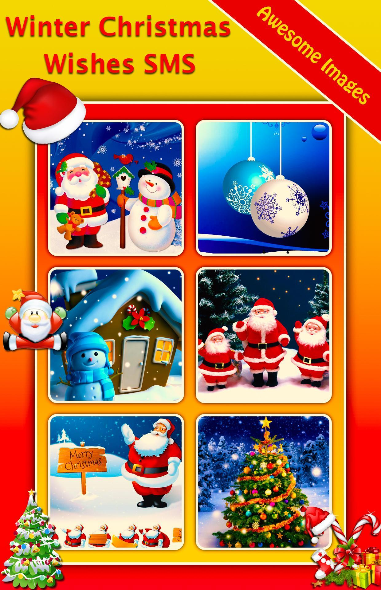 Winter Christmas Wishes Sms Status For Android Apk Download