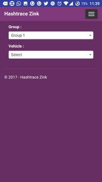 Hashtrace Zink screenshot 1